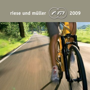 riese und müller 2009 - bei Ihrem Fahrradspezialisten in Bremerhaven