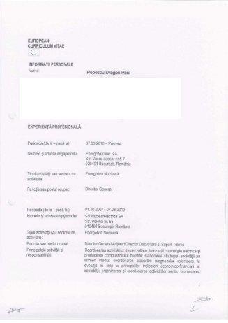 Dragos Paul Popescu - Nuclearelectrica