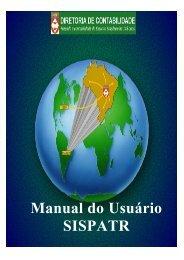 manual sispatr - Exército Brasileiro