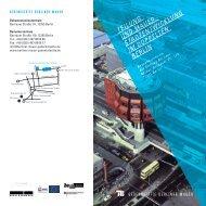 Flyer der Vortragsreihe - Urbanophil