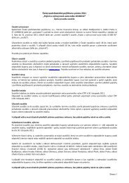 Pravidla soutěže - Česká podnikatelská pojišťovna