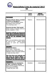 Lista de material 2007