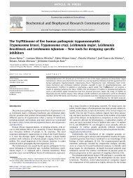 The TryPIKinome of five human pathogenic trypanosomatids ...