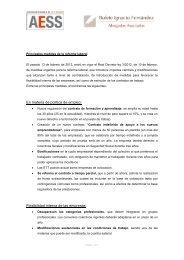 La reforma laboral: resumen de las principales medidas - AESS