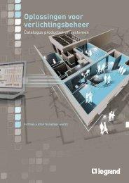 Oplossingen voor verlichtingsbeheer - Legrand