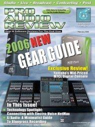 gearguide - ProSoundNetwork.com