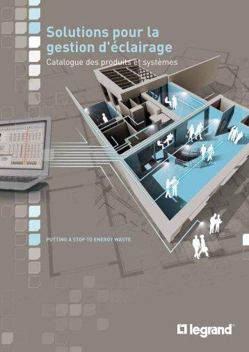 Solutions pour la gestion d'éclairage - Legrand