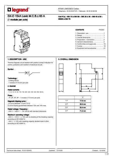 Legrand Mcb Wiring Diagram