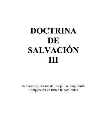 DOCTRINA DE SALVACION III - Cumorah.org