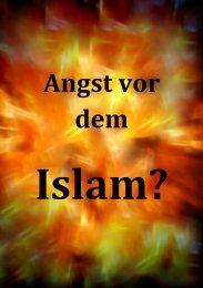 Angst vor dem - Ahmadiyya Muslim Jamaat Schweiz