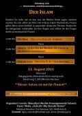 Angst vor dem - Ahmadiyya Muslim Jamaat Schweiz - Seite 2