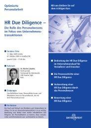 HR Due Diligence - DATAKONTEXT