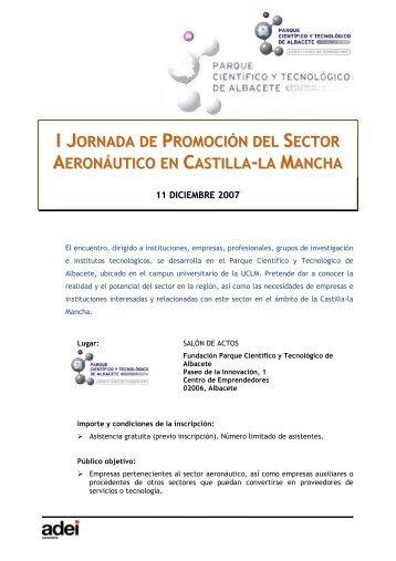 programa - Parque Científico y Tecnológico de Castilla La Mancha