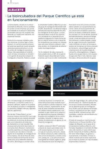 APTE 55_ALBACETE - Parque Científico y Tecnológico de Castilla ...