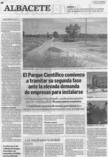 ELIAS JIMÉNEZ ALBACETE - Parque Científico y Tecnológico de ...