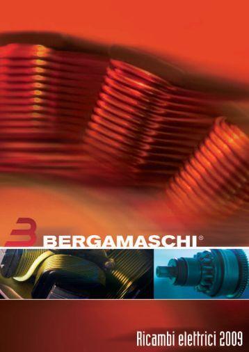 Catalogo Ricambi Elettrici - Bergamaschi