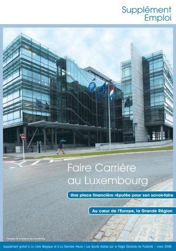 Faire Carrière au Luxembourg - IPM