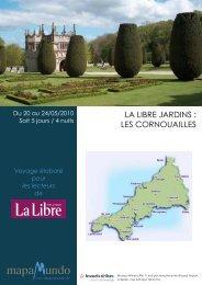 Cornouailles - Libre Belgique - Mapamundo