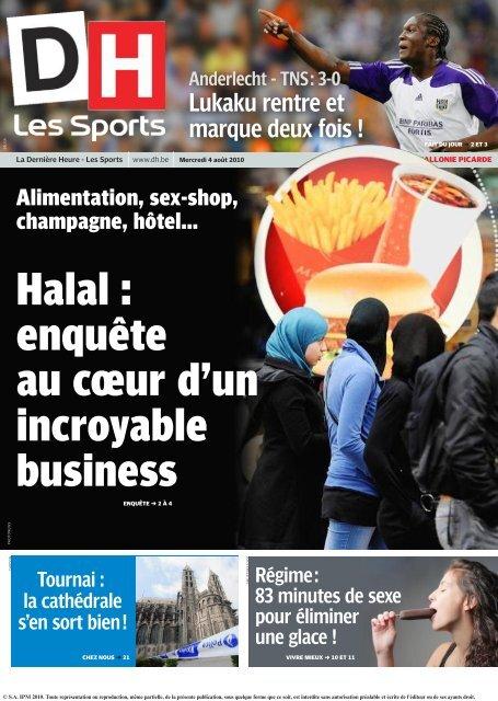 Halal Enquãªte Au Cåur Dun Incroyable Business Ipm