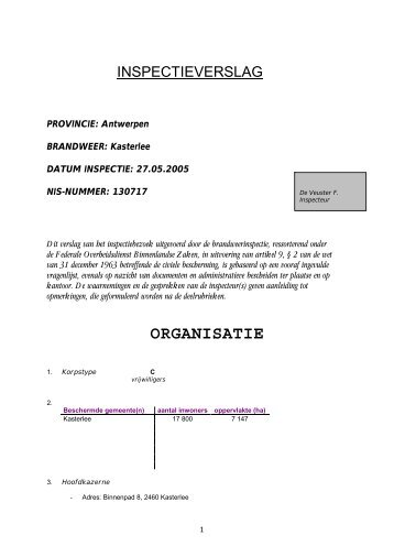 ORGANISATIE - De Standaard