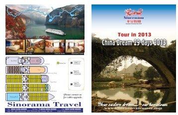 China Dream 29 days 2013