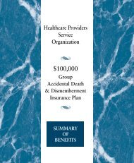 No planning goes into an accident… - Healthcare Providers Service ...