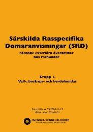 grupp 1 - Svenska Kennelklubben
