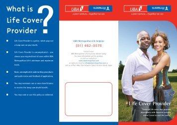 Life Cover Provider