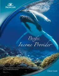 Pacific Income Provider Client Guide