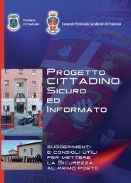 Progetto cittadino sicuro ed informato - Provincia di Frosinone