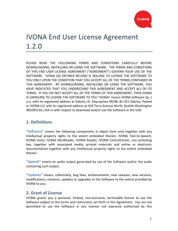 Actifio Inc End User License Agreement This Is A Binding Agreement