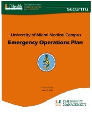 Print/ Download the Medical Campus Emergency Operations Plan