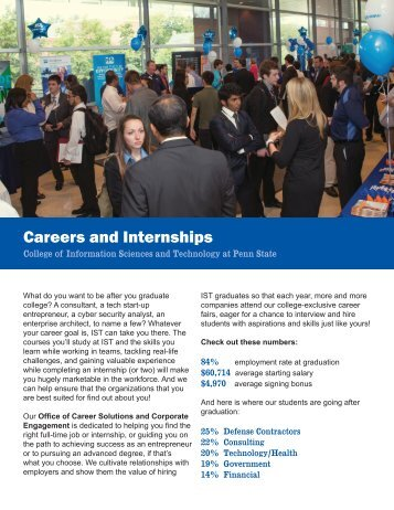 Careers and Internships - College of Information Sciences and ...