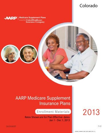 AARP Medicare Supplement Application - Colorado Health Agents