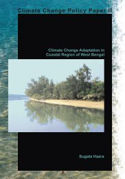 Climate change adaptation in coastal region of West ... - WWF-India