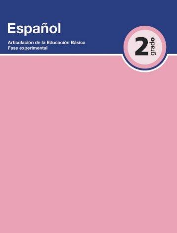 Español 2 - Secretaría de Educación del Estado de Chiapas