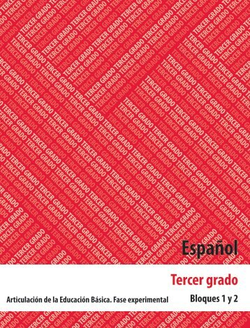 Español 3 - Secretaría de Educación del Estado de Chiapas
