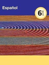 Español 6 - Secretaría de Educación del Estado de Chiapas