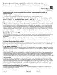HIPAA Privacy Notice - RiverSource
