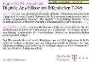 Euro-ISDN-Anschlüsse - Technische Hochschule Wildau