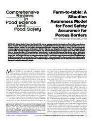 Farm-to-table: A Situation Awareness Model for ... - Dr. C. Lee Giles