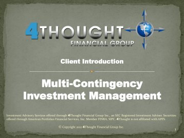 Client PDF - 4Thought Financial Group