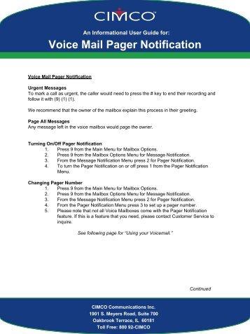 voice mail voice mail cimco rh yumpu com centurylink voicemail user guide centurylink voicemail guide