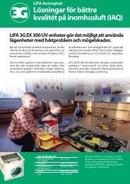 Lösningar för bättre kvalitét på inomhusluft (IAQ) - Lifa.net