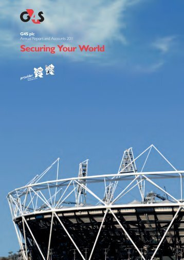 G4S Annual Report and Accounts 2011