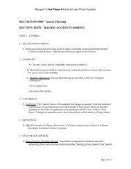 SECTION 10270 – RAISED ACCESS FLOORING - Bergvik Flooring