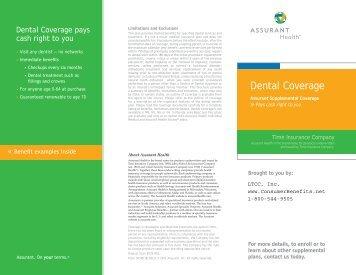 Dental Coverage - Long Term Consumer Care, Inc.