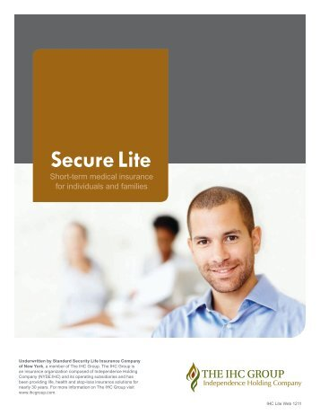 View the Secure Lite STM Brochure - Long Term Consumer Care, Inc.