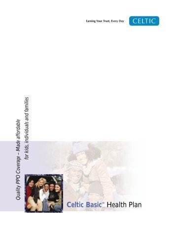 Celtic Basic Health Plan - Long Term Consumer Care, Inc.