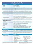 Celtic Basic Health Plan - Long Term Consumer Care, Inc. - Page 5